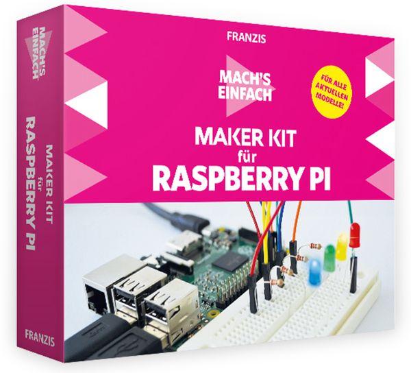 FRANZIS Mach´s einfach: Maker Kit für RPi