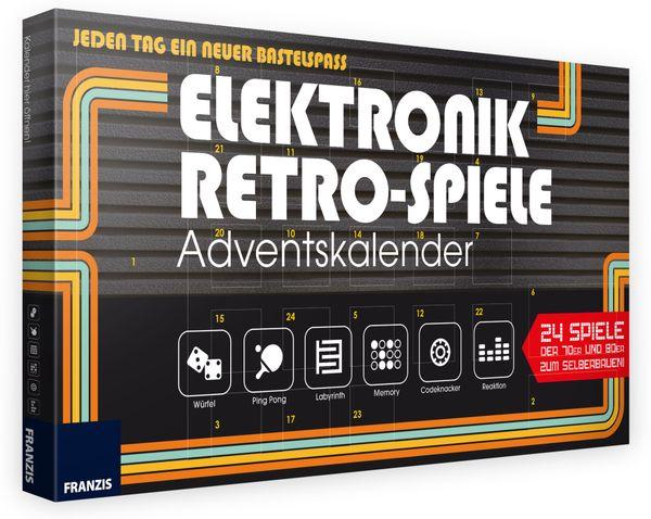 FRANZIS Elektronik Retro-Spiele Adventskalender 2019