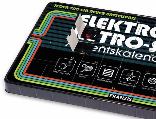 FRANZIS Elektronik Retro-Spiele Adventskalender 2019 - Produktbild 2