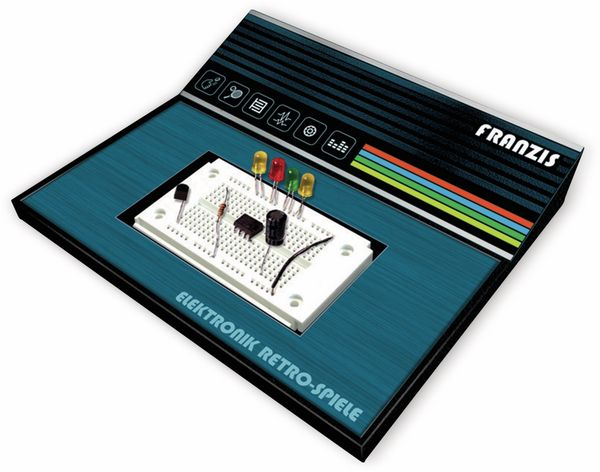 FRANZIS Elektronik Retro-Spiele Adventskalender 2019 - Produktbild 3