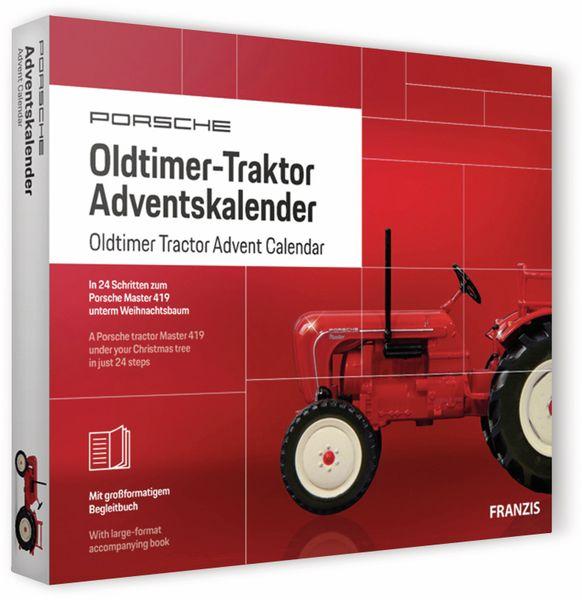 FRANZIS Porsche Oldtimer-Traktor Adventskalender 2019 - Produktbild 2
