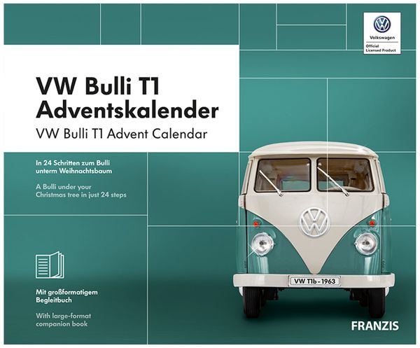 FRANZIS VW Bulli T1 Adventskalender 2019 - Produktbild 2