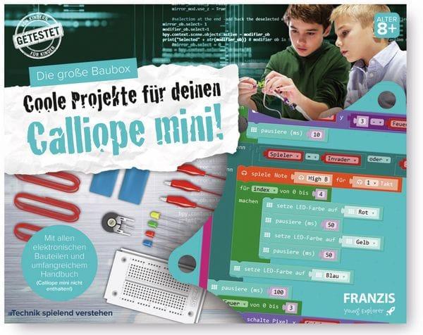 FRANZIS Die große Baubox, Coole Projekte für Deinen Calliope mini