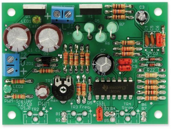Bausatz PWM-Steller 12/10 - Produktbild 3