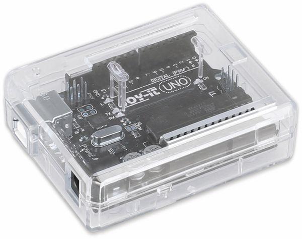 JOY-IT Kunststoffgehäuse für Arduino UNO