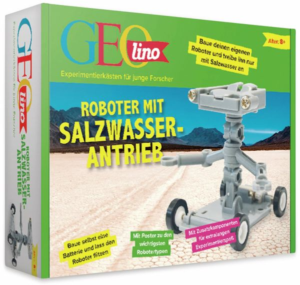 FRANZIS GEOlino, Roboter mit Salzwasserantrieb
