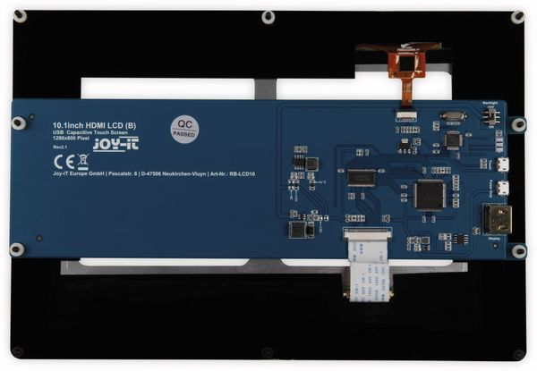 "JOY-IT 10.1"" Touchscreen Display für Raspberry Pi - Produktbild 5"