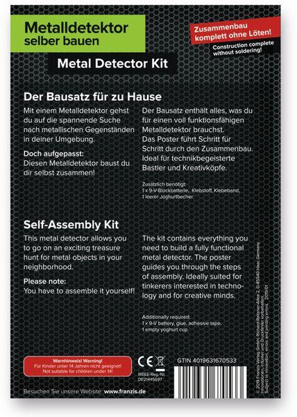 FRANZIS Metalldetektor selber bauen, ohne löten - Produktbild 3
