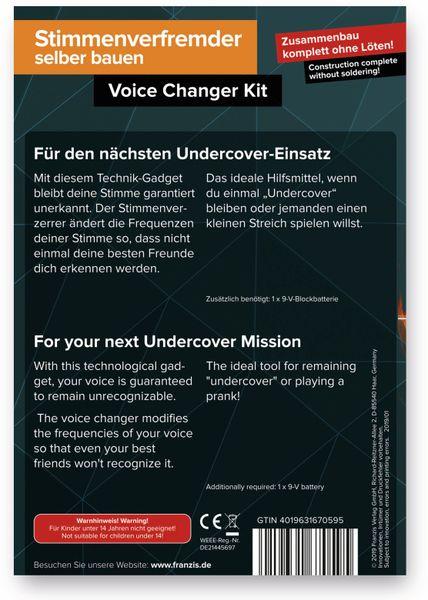 FRANZIS Stimmenverfremder selber bauen, ohne löten - Produktbild 3