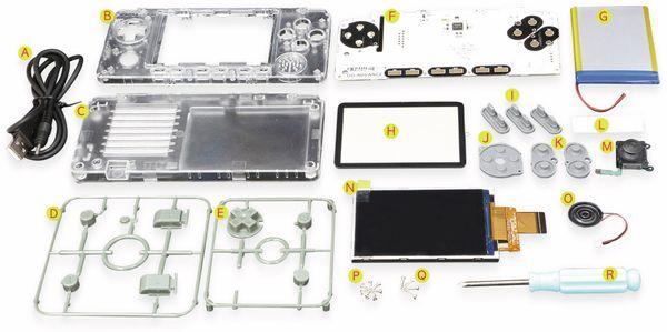 ODROID-GO Advance Mobile Spielekonsole Kit - Produktbild 5