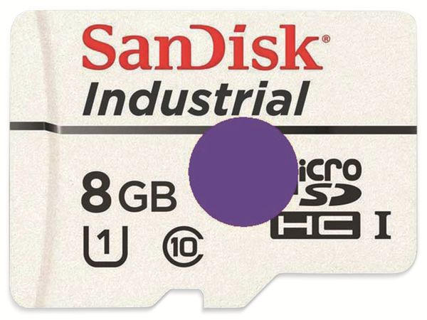 ODROID, 8GB Industrial MicroSD UHS-1 C4