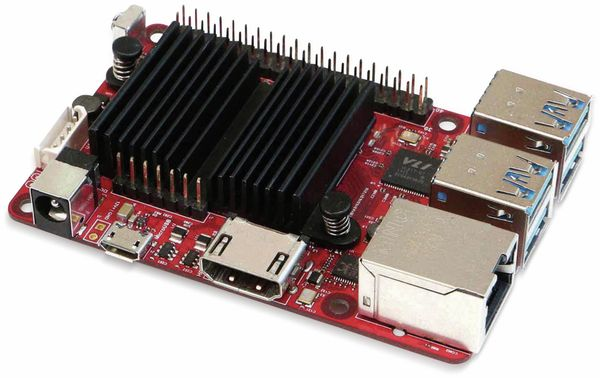 ODROID-C4 Einplatinen-Computer, 2 GHz QuadCore, 4 GB RAM, 4x USB