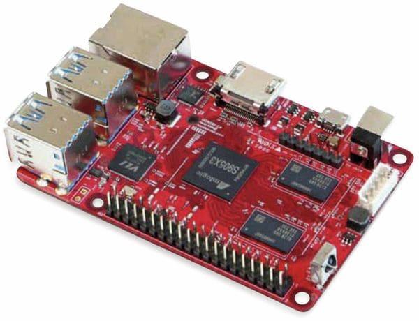 ODROID-C4 Einplatinen-Computer, 2 GHz QuadCore, 4 GB RAM, 4x USB - Produktbild 2
