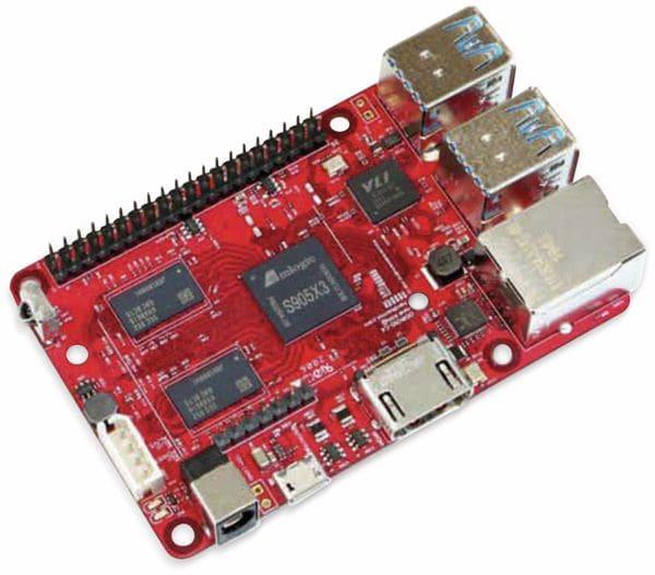 ODROID-C4 Einplatinen-Computer, 2 GHz QuadCore, 4 GB RAM, 4x USB - Produktbild 4