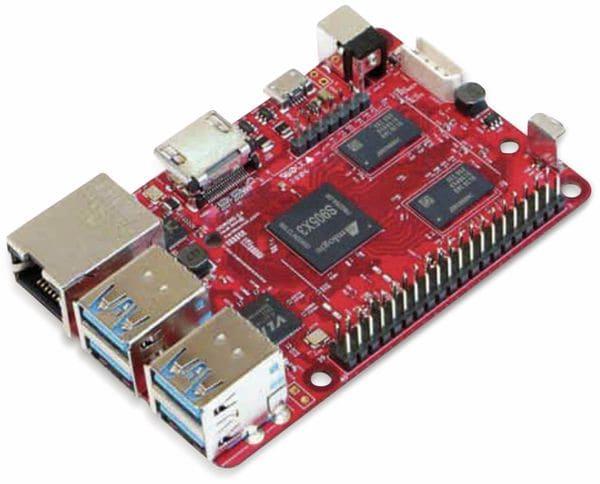 ODROID-C4 Einplatinen-Computer, 2 GHz QuadCore, 4 GB RAM, 4x USB - Produktbild 5