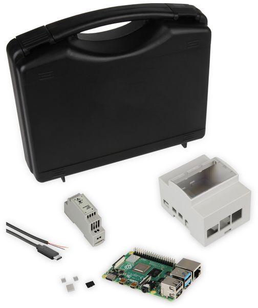 JOY-IT, Raspberry Pi 4B 4GB Dinrail Set