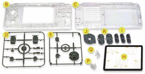 Gehäuse- und Tasten-Kit, transparent