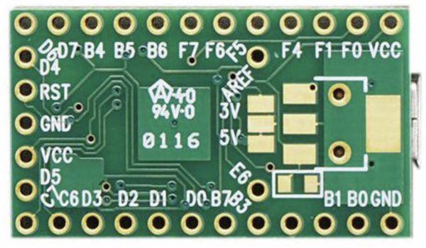 PJRC, Teensy 2.0 USB Board - Produktbild 2