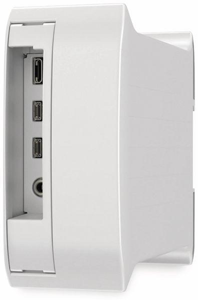 Hutschienengehäuse Italtronic 10.0052450.RP4 für Raspberry Pi 4 Model B - Produktbild 3