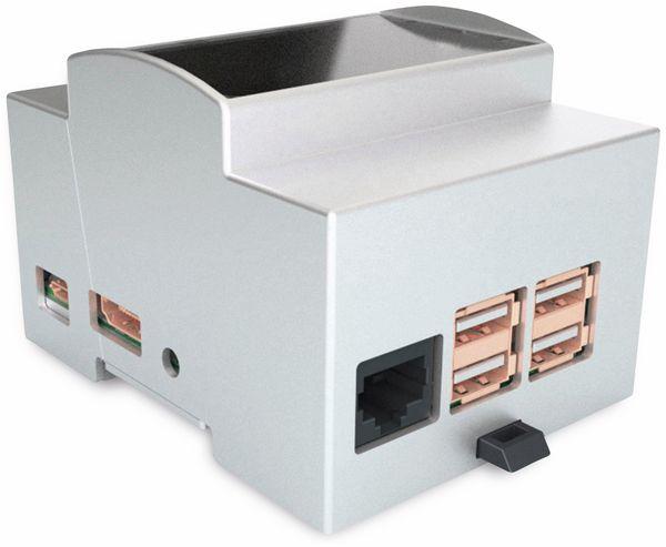 Hutschienengehäuse Italtronic 25.0410000.OCP für Odroid C1+