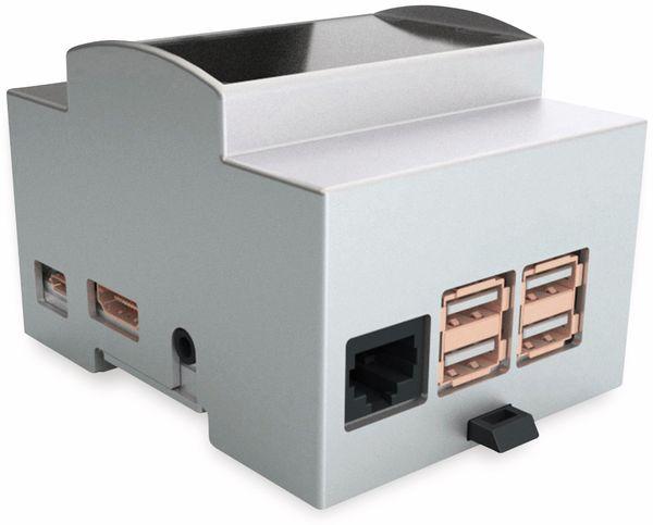 Hutschienengehäuse Italtronic 25.0410000.RP3 für Raspberry Pi 3 Model B/B+