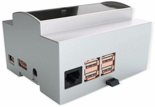 Hutschienengehäuse Italtronic 25.0610000.RP3 für Raspberry Pi 3 Model B/B+