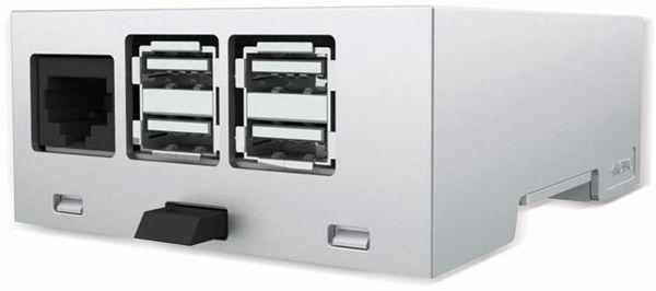 Hutschienengehäuse Italtronic 33.0414000.RMB für Raspberry Pi B+