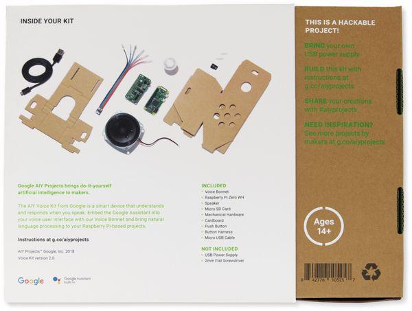 Google AIY Voice Kit v2: maschinelles Lernen zum Selbermachen - Produktbild 4