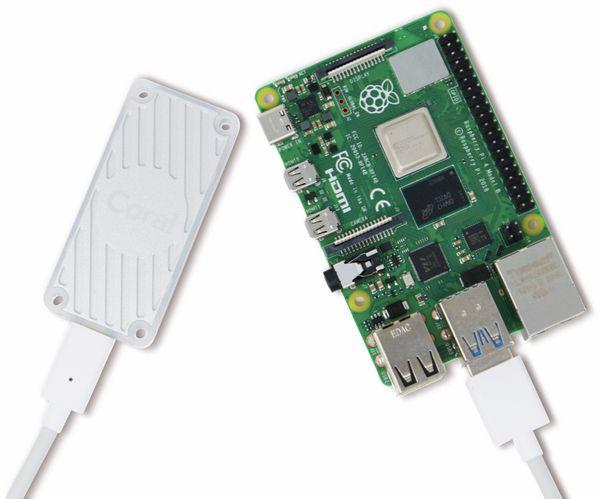 Google Coral USB Accelerator: USB Koprozessor für maschinelles Lernen - Produktbild 4