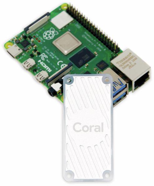 Google Coral USB Accelerator: USB Koprozessor für maschinelles Lernen - Produktbild 5