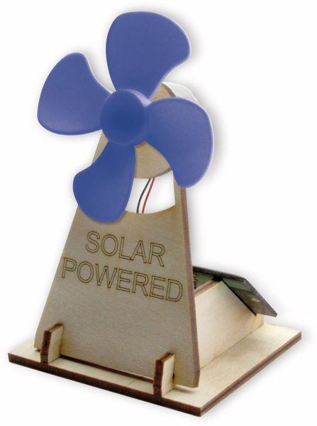 Bausatz, Solar Lüfter, Holz-Bausatz