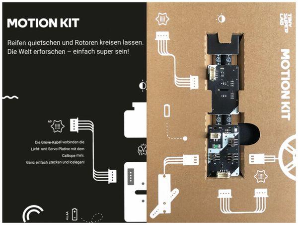 Calliope Motion Kit -Die mobile Ergänzung für Deinen Calliope mini - Produktbild 8