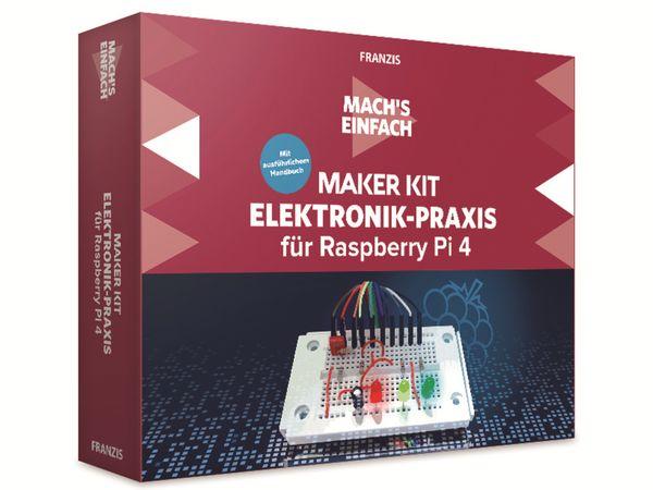 Maker Kit, FRANZIS, 67143, für Raspberry Pi 4