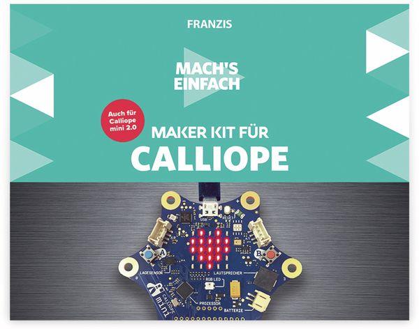 Maker Kit, FRANZIS, 67132, für Calliope