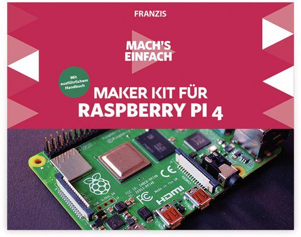 Maker Kit, FRANZIS, 67112, für Raspberry Pi 4