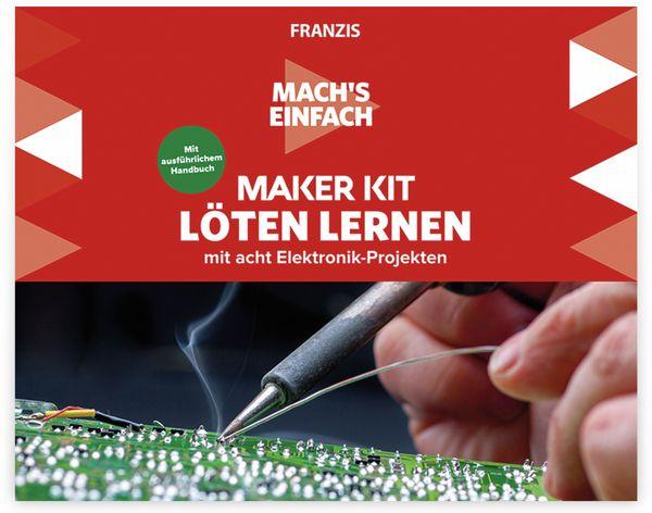 Maker Kit, FRANZIS, 67122, Löten lernen