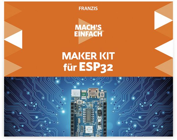 Maker Kit, FRANZIS, 67093, für ESP32