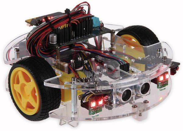 "Joy-it Roboter Bausatz Micro:Bit ""JoyCar"" Bausatz - Produktbild 2"