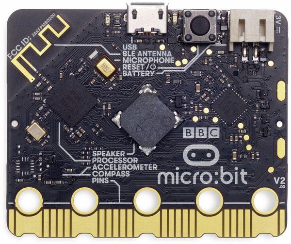 Micro:bit, Micro Bit 2 in Einzelverpackung (ohne Zubehör) Antistatic Beutel m. Aufkleber