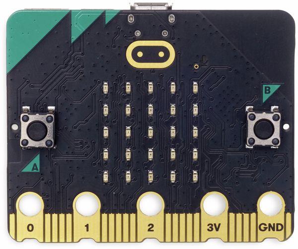 Micro:bit, Micro Bit 2 in Einzelverpackung (ohne Zubehör) Antistatic Beutel m. Aufkleber - Produktbild 2