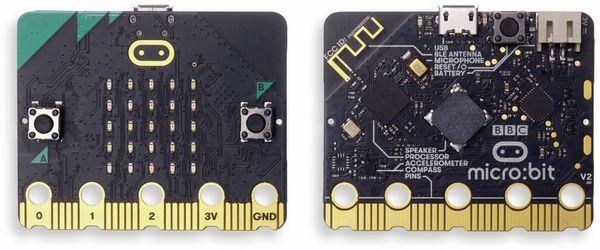 Micro:bit, Micro Bit 2 in Einzelverpackung (ohne Zubehör) Antistatic Beutel m. Aufkleber - Produktbild 3