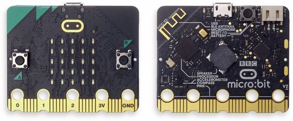 Micro:bit, BBC Micro Bit 2 Go Set, MicroBit2GoBoxed - Produktbild 3