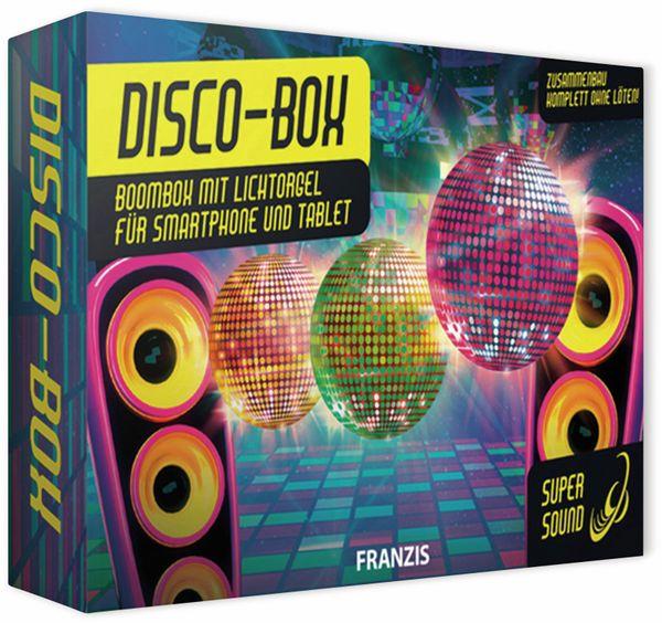 Bausatz, FRANZIS, Disco-Box, 67082, Zusammenbau komplett ohne löten