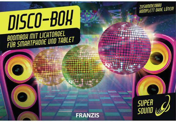 Bausatz, FRANZIS, Disco-Box, 67082, Zusammenbau komplett ohne löten - Produktbild 2