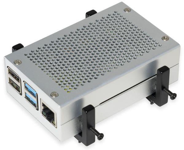 Universal Halterung Vesa 75/100 & Hutschiene / Pi / Mini PC - Produktbild 3