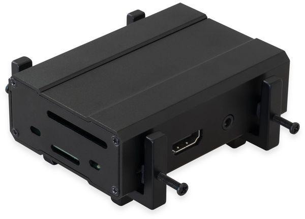 Universal Halterung Vesa 75/100 & Hutschiene / Pi / Mini PC - Produktbild 4