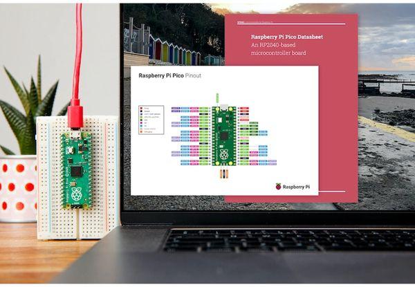 Raspberry Pi Mikrocontroller PICO - Produktbild 5