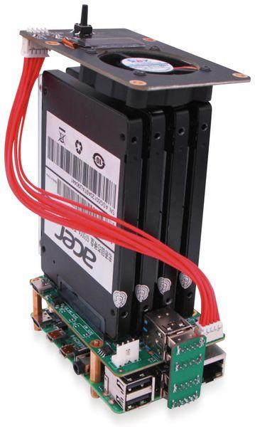 Raspberry Rock Pi 4 zbh. SATA NAS HAT Top Board - Produktbild 2