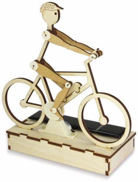 Bausatz, Solar Radler / E-Biker, Holzbausatz zum Selberbauen - Produktbild 2