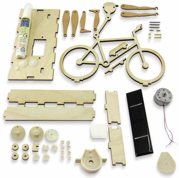 Bausatz, Solar Radler / E-Biker, Holzbausatz zum Selberbauen - Produktbild 3